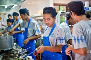 Cooking vocational training