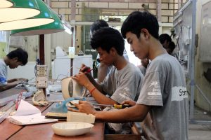 Electricity vocational training