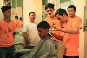 Hairdressing vocational training