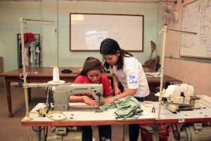 Sewing vocational training