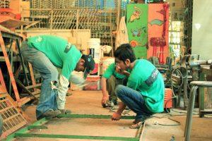 Welding vocational training