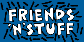 Friends 'N' Stuff logo